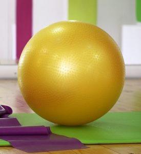 En Pilatesboll